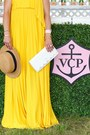 Yellow-maxi-dress-asos-dress-tan-straw-nordstrom-hat