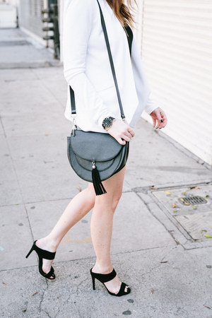 bangle Melinda Maria bracelet - faux leather Naked Vice bag - black Cluse watch