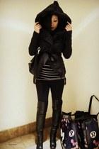 black Lululemon coat