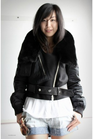 black Alexander Wang coat