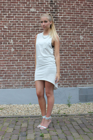 H&M dress - Nelly sandals