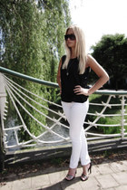 Mango jeans - Marni for H&M sunglasses - H&M Trend blouse - Zara sandals