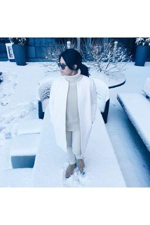 white wool coat JCrew coat