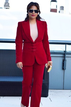 ruby red cod vintage suit