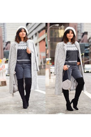 gray wool Old Navy sweater