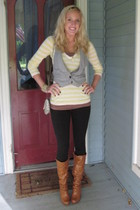 american eagle outfitters shirt - Charlotte Russe top - wwwgojanecom boots - Wet