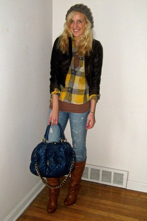 Charlotte Russe jacket - american eagle outfitters shirt - american eagle outfit