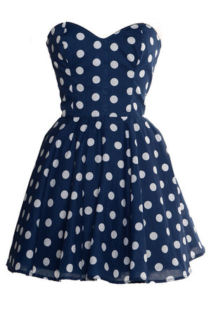 navy Style Icons Closet dress