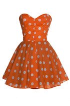 orange Style Icons Closet dress