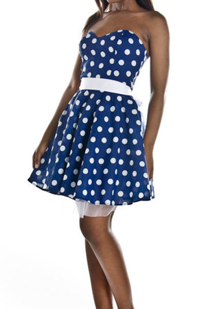 navy Style Icons Clsoet by Sisi & Mimi dress