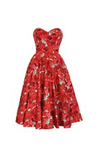 Blooming Marvelous 50s Style Rockabilly Swing Dress