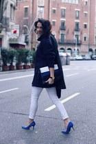 H&M jeans - saveen bag - Zara jumper - Viceroy watch