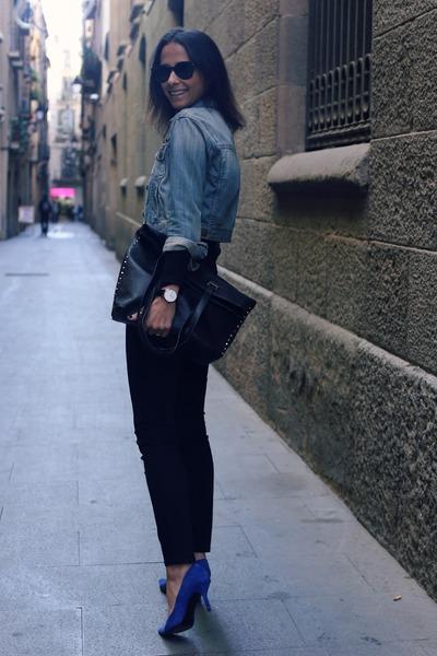 black Deichmann bag
