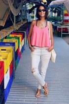 Zara jeans - asos top
