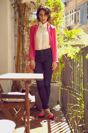 H&M jeans - Choies blazer