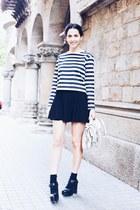 Tous bag - H&M skirt - Zara top