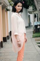 sheer carolina sarda blouse - ballerina CATU SHOES flats