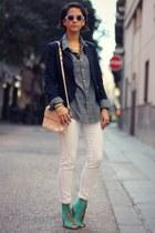 Topman shirt - Zara bag - H&M pants