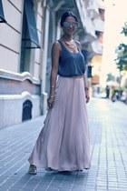 nixon watch - Zara skirt - H&M necklace