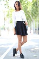 H&M skirt - Zara sweater - Superga sneakers