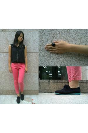 Target shoes - Bershka ring