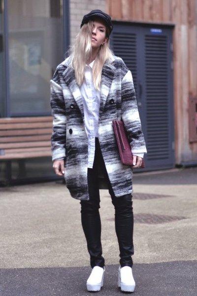 Gat Rimon coat - Choies boots - Choies hat - JCrew shirt - Gat Rimon bag