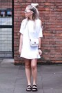 White-dress-motel-rocks-dress-long-trench-front-row-shop-coat