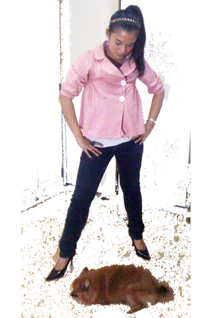 bangkok jacket - Mango t-shirt - Topshop jeans - Accessorize accessories