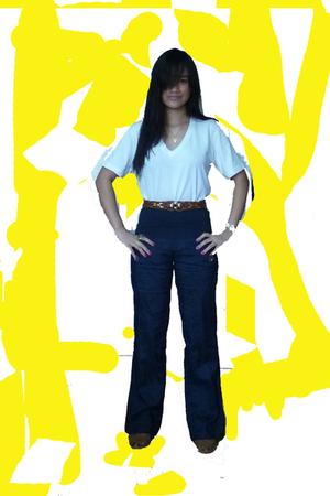 Dean and Trent shirt - belt - Mango pants - Bandolino shoes