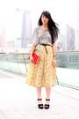 Red-kate-spade-bag-black-cotton-on-heels-heather-gray-random-from-hong-kong-