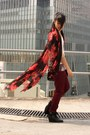 Red-hong-kong-scarf-brick-red-h-m-pants