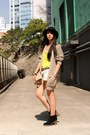 Black-cotton-on-boots-dark-gray-h-m-hat-peach-zara-bag-off-white-forever-2