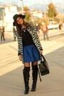 Zebra-persunmall-coat-koton-hat-persunmall-skirt