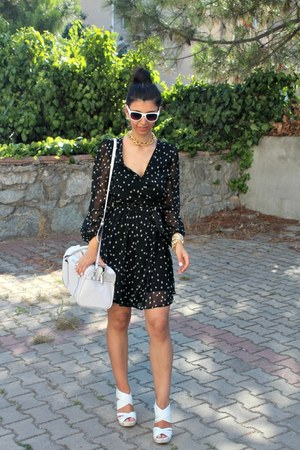 Zara dress - Mango bag - H&M sunglasses