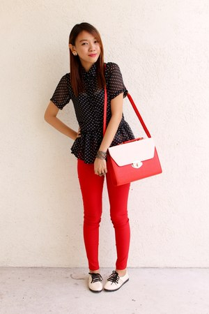 candy bag Clothepedia bag - treggings Clothepedia pants - Clothepedia top