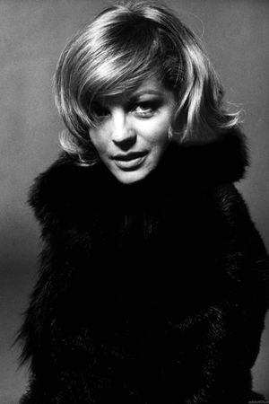 black romy schneider  coat