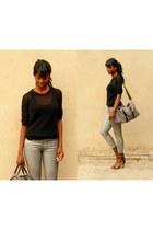 silver silver H&M jeans