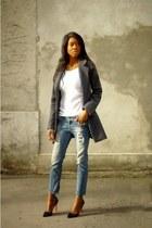 navy Zara jeans