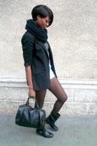 light blue vintage Levis shorts - black La Redoute blazer