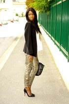 black Jean-Michel Cazabat heels