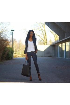 black Promod blazer