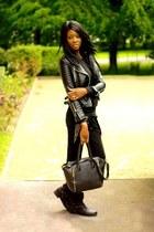 black Miss Selfridge jacket