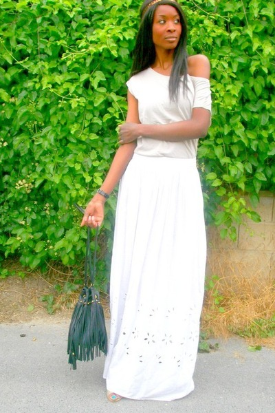 Collection White Maxi Skirts Pictures - Gift and fashion