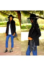 black studded boots Choies boots
