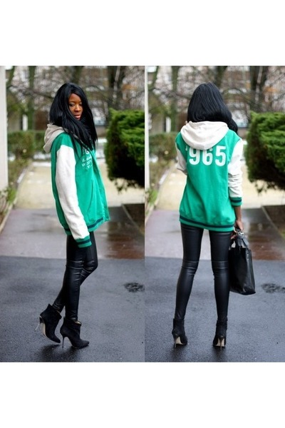 forest green H&M jacket