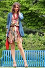 All-saints-dress-kensie-blazer-banana-republic-bag-bcbg-max-azria-heels