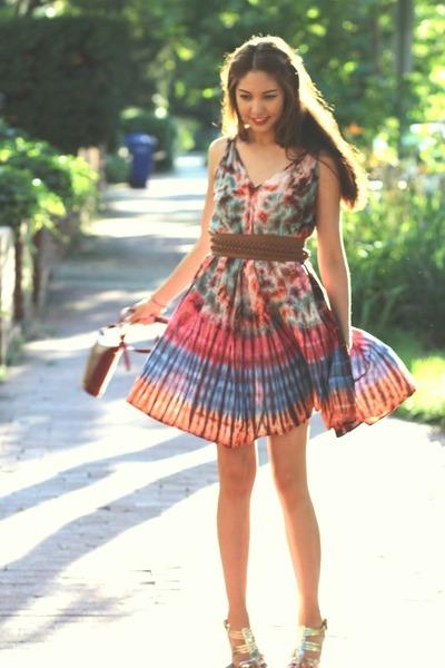 tie dye No label dress