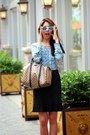 Mirrored-lens-amazon-sunglasses-gucci-bag-ann-taylor-skirt