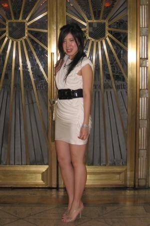 Alexander Wang dress - Armani Exchange belt - Guess shoes