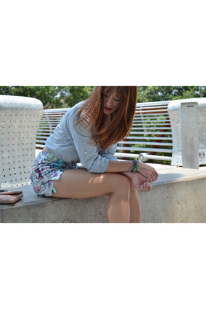 Zara shorts - J Crew Factory shirt